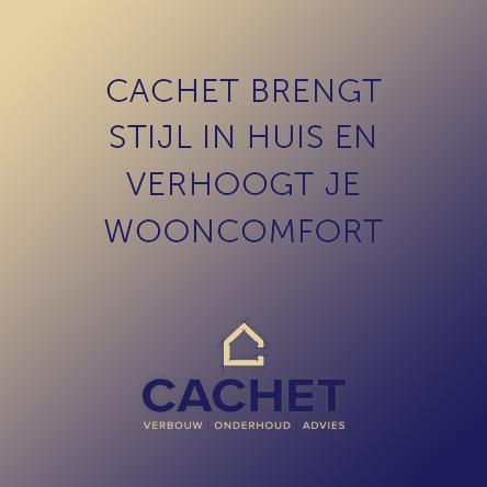 Cachet verbouw, onderhoud en advies Warmond