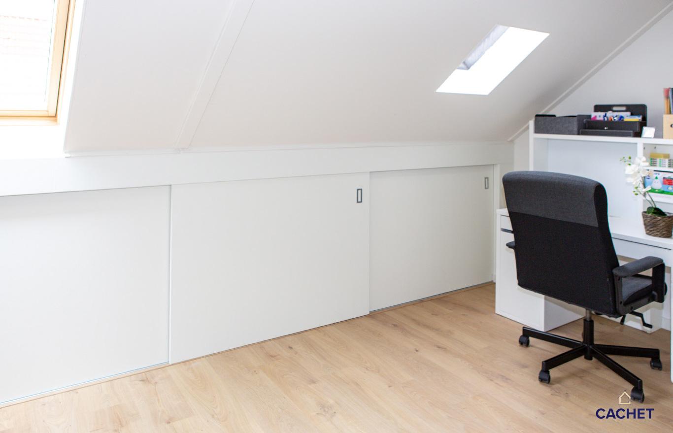 Verbouwing zolderruimte door Cachet verbouw, onderhoud en advies Warmond